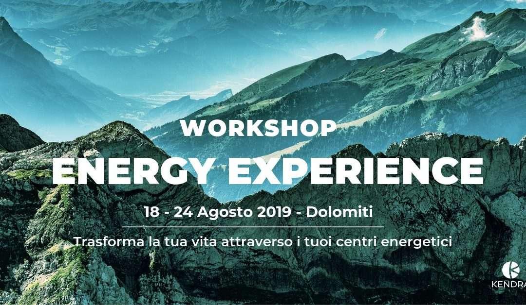 WORKSHOP ENERGY EXPERIENCE – TRENTO